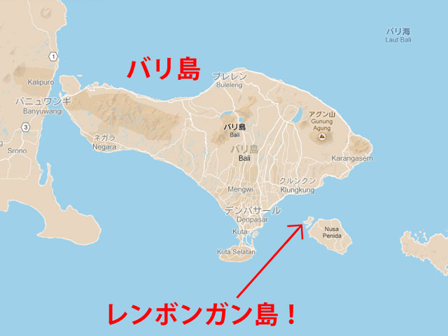 レンボンガン島!地図22